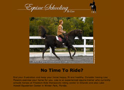 Equine Schooling by Lisa